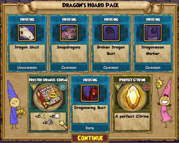 Stars of the Spiral - Dragon Hoard Pack Guide