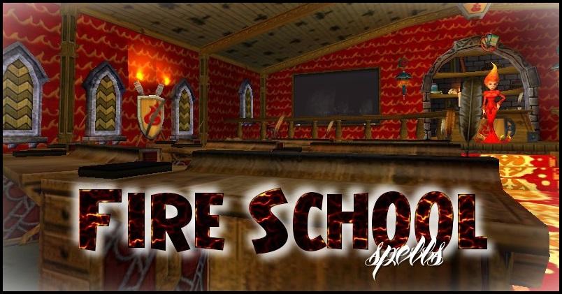 Fire School Spells